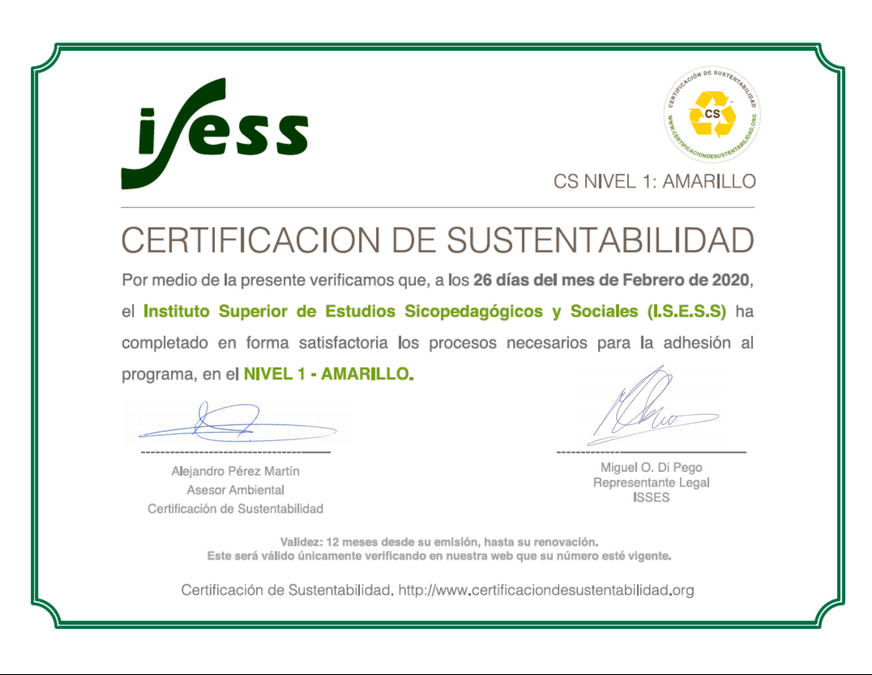 Compromiso Ambiental ISESS